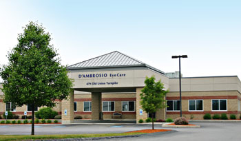 D Ambrosio Eye Care Lancaster Massachusetts Location Map